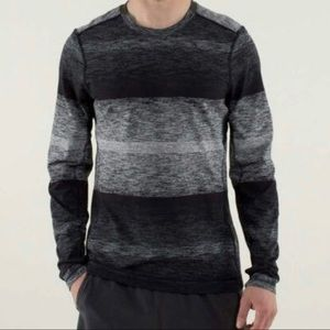 Lululemon Mens Rulu Core Crew Neck LS